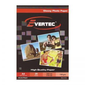 A4 Glossy EVERTEC 130g