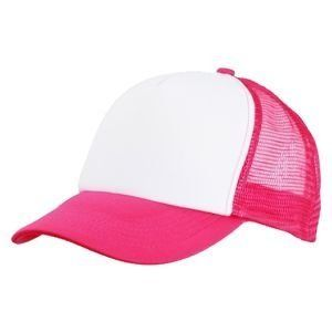 vicera y red fucsia - frente blanco sublimable